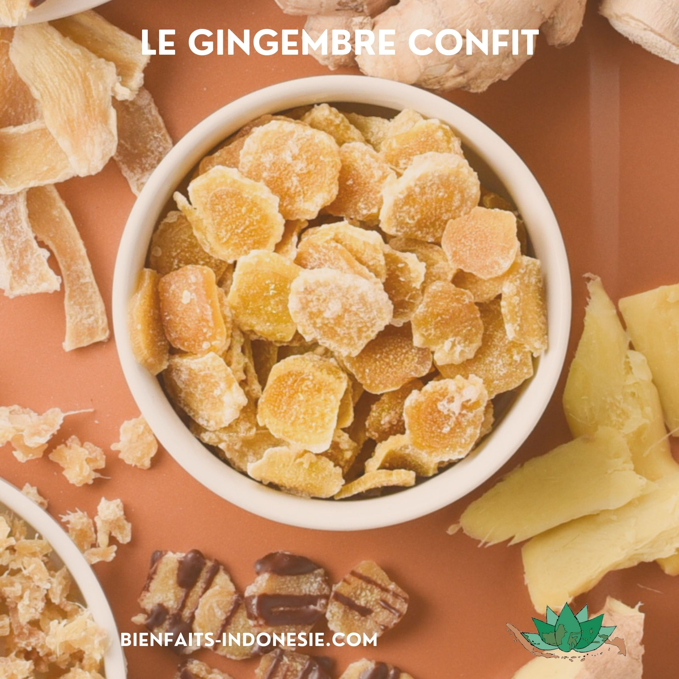 Gingembre confit - Couverture